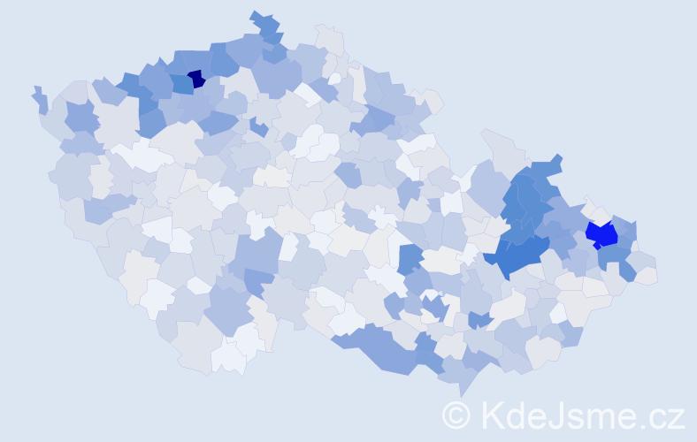 Příjmení: 'Baláž', počet výskytů 2348 v celé ČR