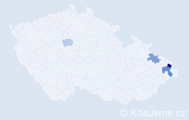 Příjmení: 'Dembowski', počet výskytů 18 v celé ČR