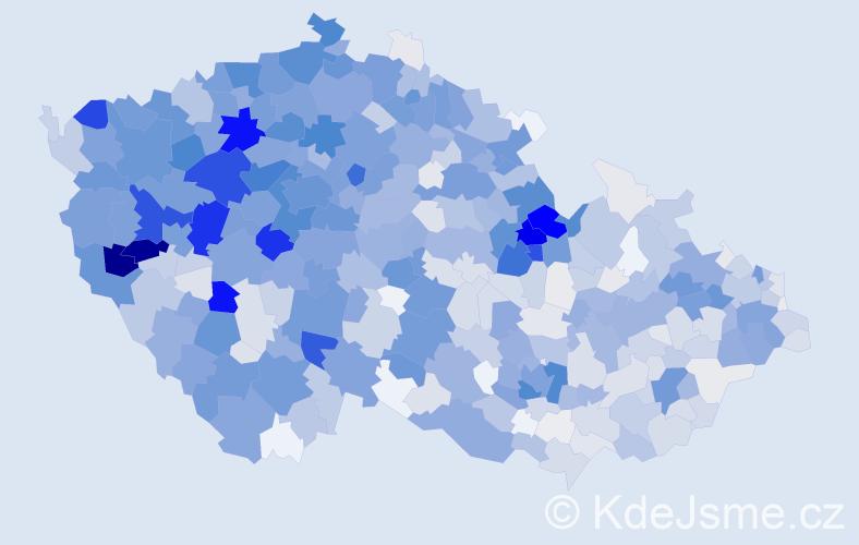 Příjmení: 'Fišer', počet výskytů 4185 v celé ČR