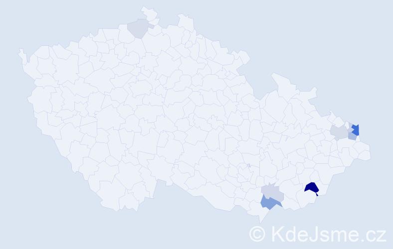 Příjmení: 'Malatinská', počet výskytů 28 v celé ČR