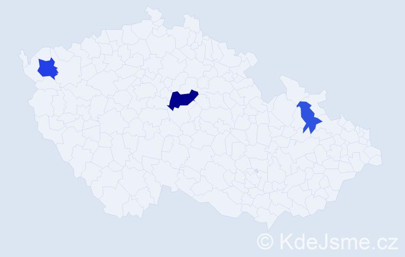 Příjmení: 'Lerich', počet výskytů 6 v celé ČR