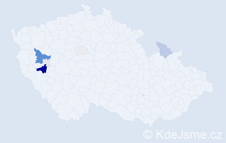 Příjmení: 'Ausberger', počet výskytů 14 v celé ČR