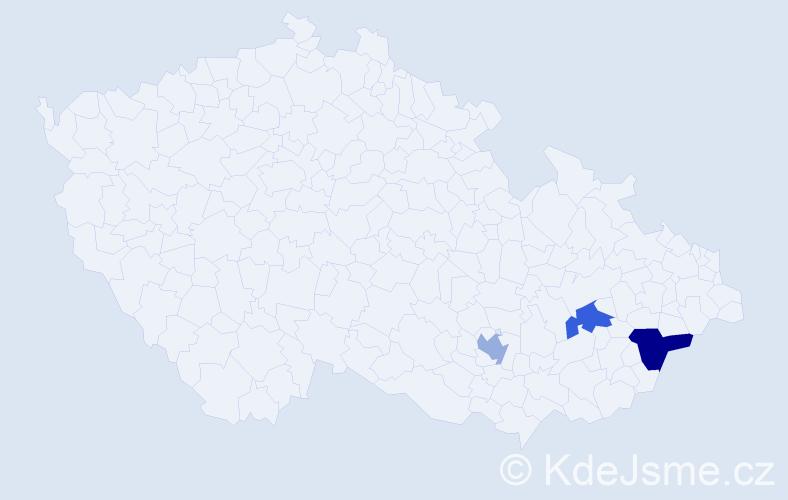 Příjmení: 'Kamelander', počet výskytů 7 v celé ČR