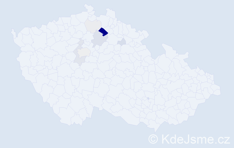 Příjmení: 'Hajlich', počet výskytů 33 v celé ČR