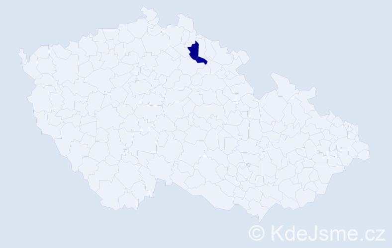 Příjmení: 'Čeleňáková', počet výskytů 3 v celé ČR