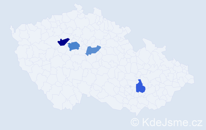 Příjmení: 'Lämlein', počet výskytů 16 v celé ČR