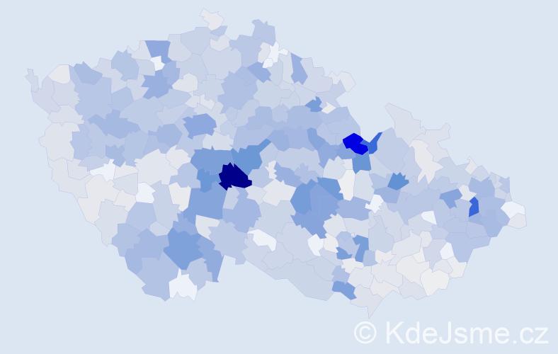Příjmení: 'Filipová', počet výskytů 3733 v celé ČR