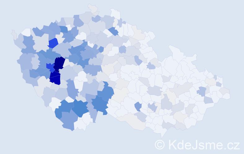 Příjmení: 'Houšková', počet výskytů 1206 v celé ČR