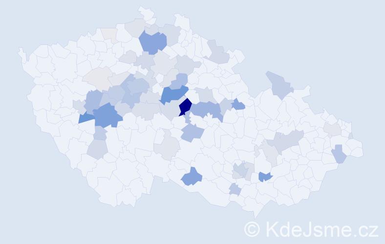 Příjmení: 'Chadrabová', počet výskytů 241 v celé ČR