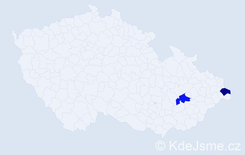 Příjmení: 'Gagolová', počet výskytů 2 v celé ČR