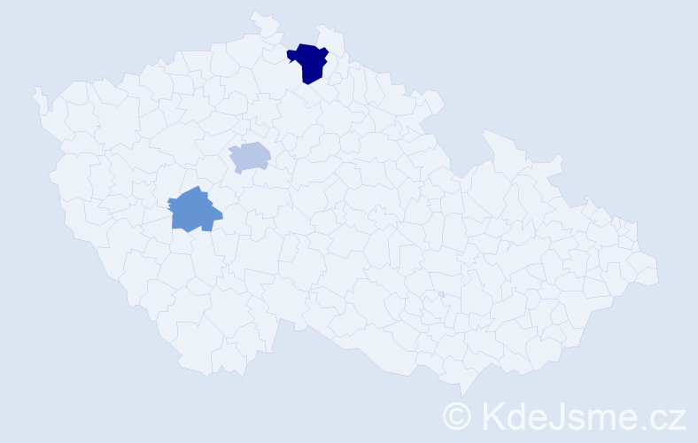 Příjmení: 'Eppertová', počet výskytů 8 v celé ČR