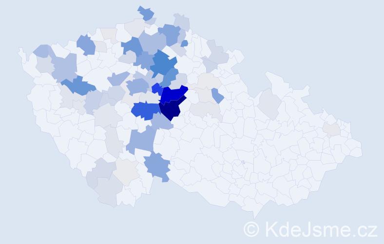 Příjmení: 'Drahota', počet výskytů 285 v celé ČR