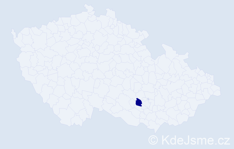 Příjmení: 'Gotschimová', počet výskytů 6 v celé ČR