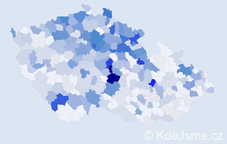 Příjmení: 'Fiedlerová', počet výskytů 1062 v celé ČR