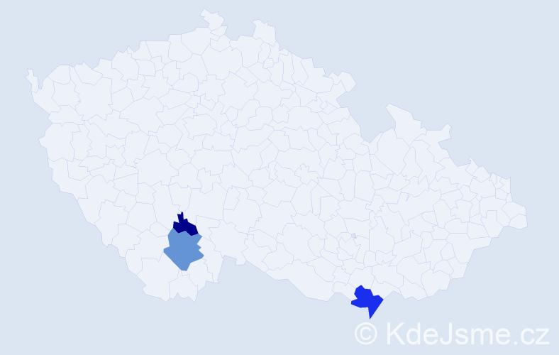 Příjmení: 'Galanidisová', počet výskytů 7 v celé ČR