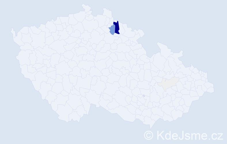 Příjmení: 'Faistaver', počet výskytů 33 v celé ČR