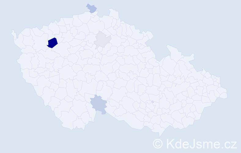 Příjmení: 'Belušiak', počet výskytů 12 v celé ČR