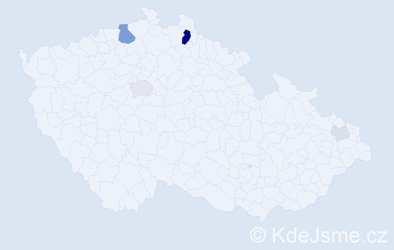 Příjmení: 'Ederer', počet výskytů 12 v celé ČR