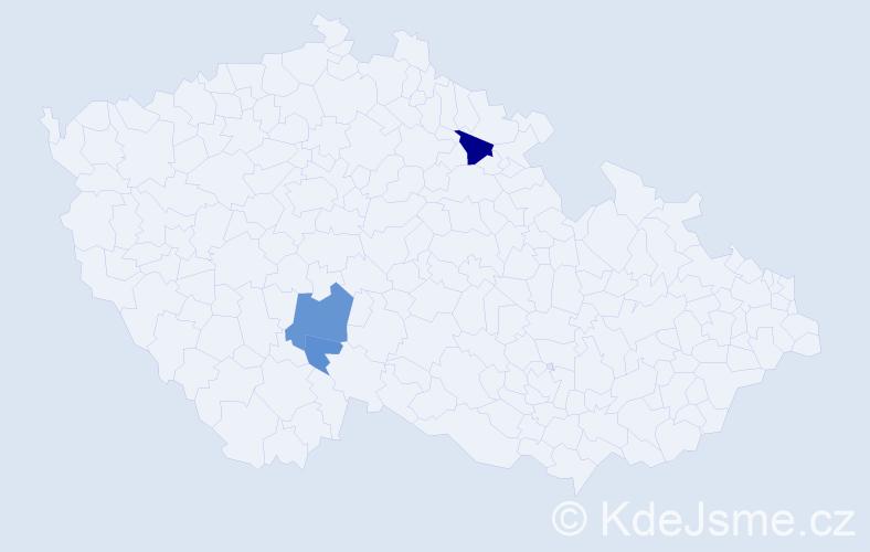 Příjmení: 'Erwerthová', počet výskytů 7 v celé ČR