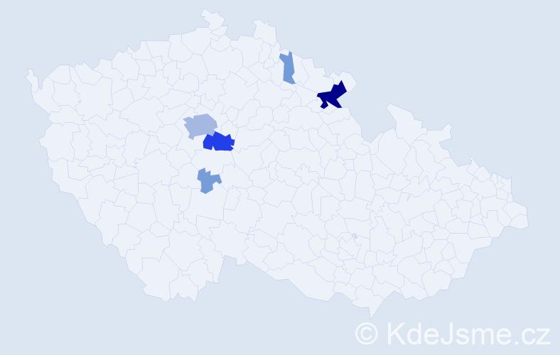 Příjmení: 'Demartini', počet výskytů 59 v celé ČR