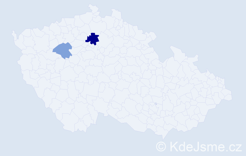 Příjmení: 'Ižold', počet výskytů 4 v celé ČR