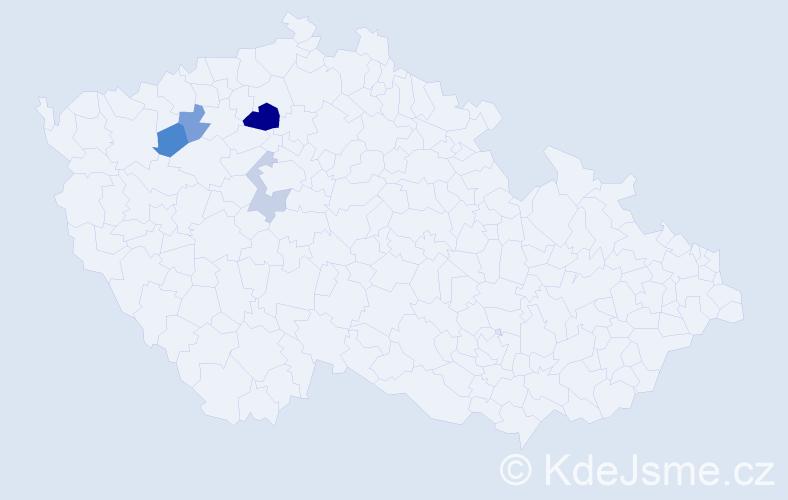Příjmení: 'Leonovičová', počet výskytů 7 v celé ČR
