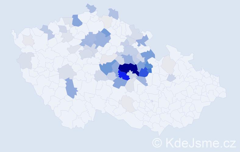 Příjmení: 'Bohuněk', počet výskytů 239 v celé ČR