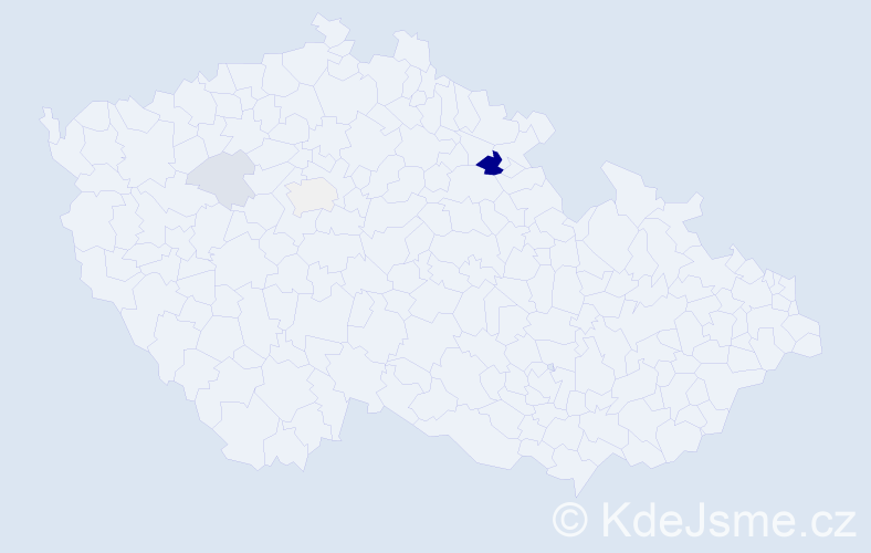 Příjmení: 'Huňaková', počet výskytů 11 v celé ČR