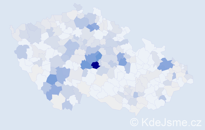 Příjmení: 'Lebeda', počet výskytů 1049 v celé ČR