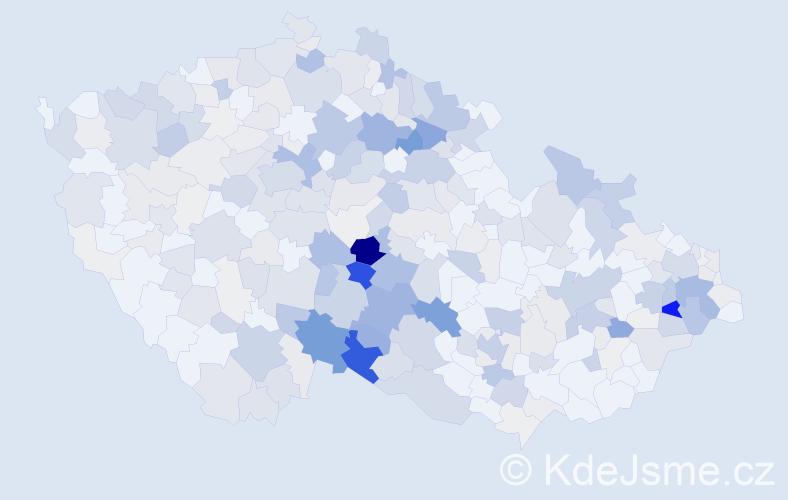 Příjmení: 'Janák', počet výskytů 1191 v celé ČR
