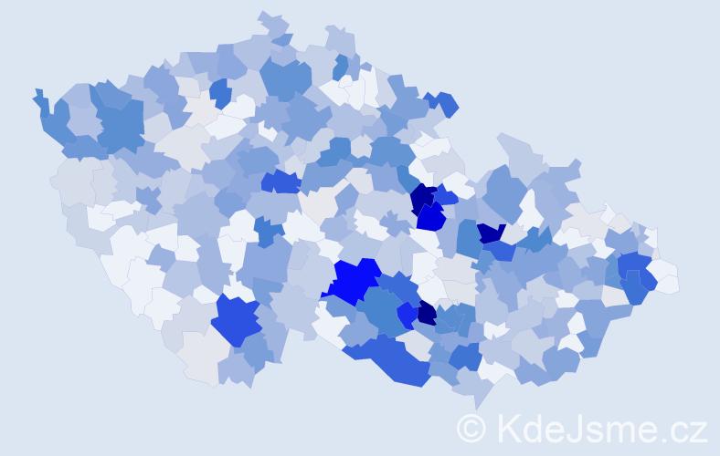 Příjmení: 'Eliáš', počet výskytů 1817 v celé ČR