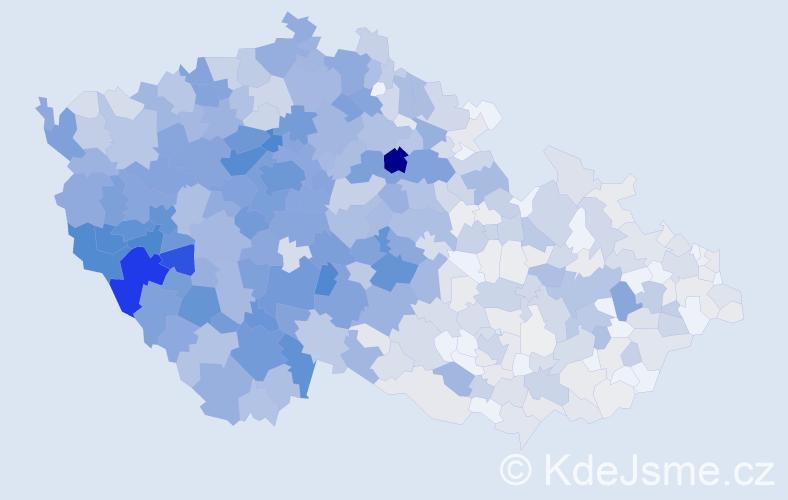 Příjmení: 'Kohoutová', počet výskytů 3841 v celé ČR