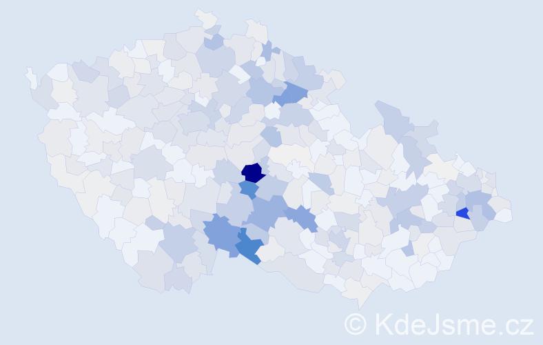 Příjmení: 'Janáková', počet výskytů 1238 v celé ČR