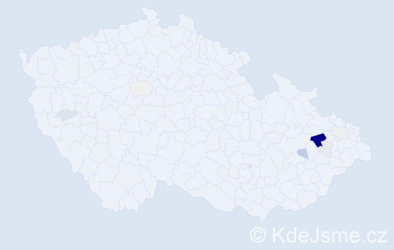 Příjmení: 'Fegler', počet výskytů 30 v celé ČR