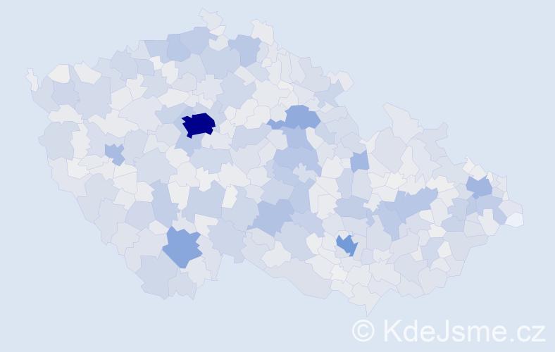 Příjmení: 'Marek', počet výskytů 10864 v celé ČR