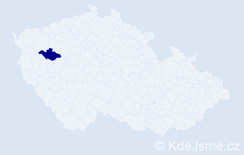 Příjmení: 'Adamojurková', počet výskytů 3 v celé ČR