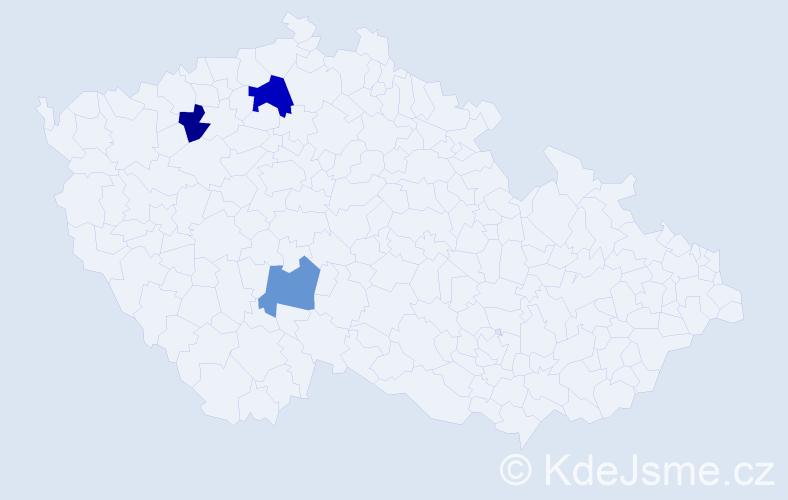 Příjmení: 'Lepský', počet výskytů 4 v celé ČR