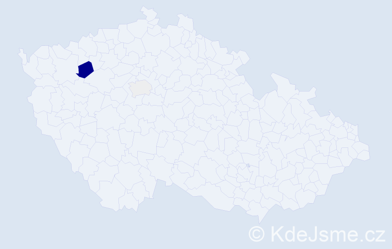 Příjmení: 'Battulga', počet výskytů 4 v celé ČR