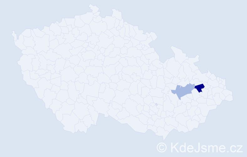 Příjmení: 'Florio', počet výskytů 2 v celé ČR