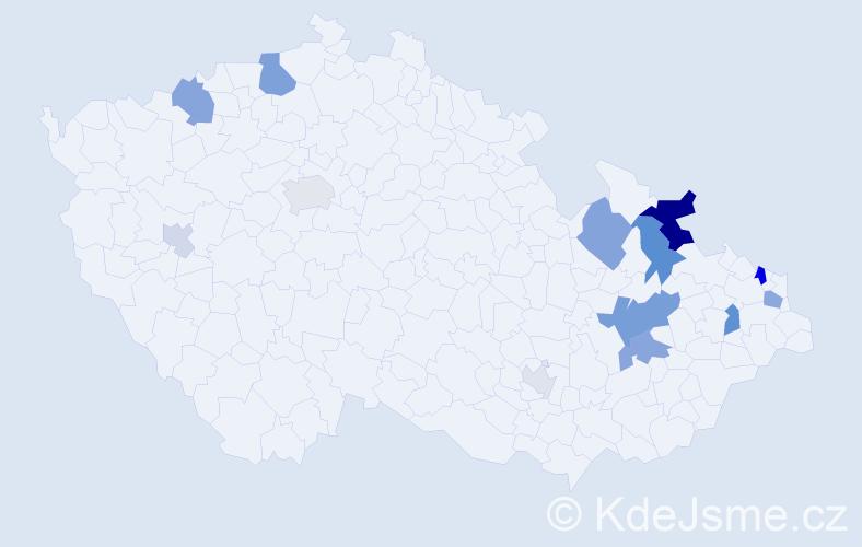 Příjmení: 'Lalinský', počet výskytů 31 v celé ČR