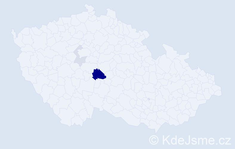 Příjmení: 'Früblingová', počet výskytů 7 v celé ČR