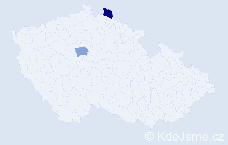 Příjmení: 'Amiri', počet výskytů 15 v celé ČR