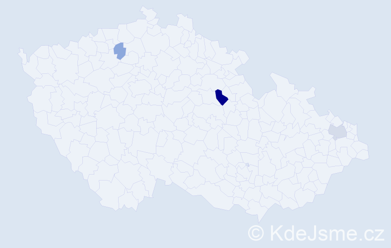 Příjmení: 'Besedič', počet výskytů 6 v celé ČR