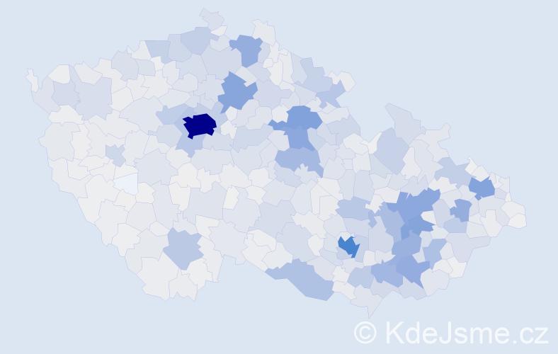Příjmení: 'Horáková', počet výskytů 12499 v celé ČR