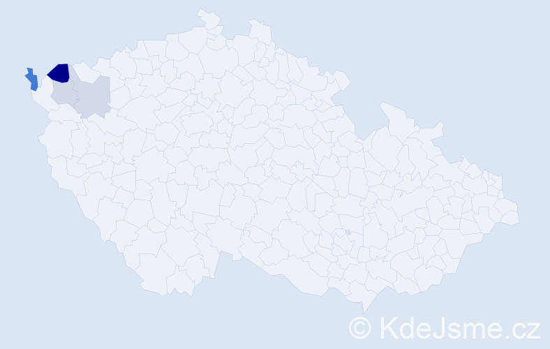 Příjmení: 'Balamutová', počet výskytů 7 v celé ČR