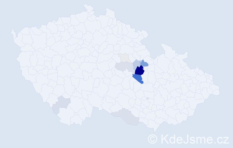 Příjmení: 'Briolová', počet výskytů 33 v celé ČR