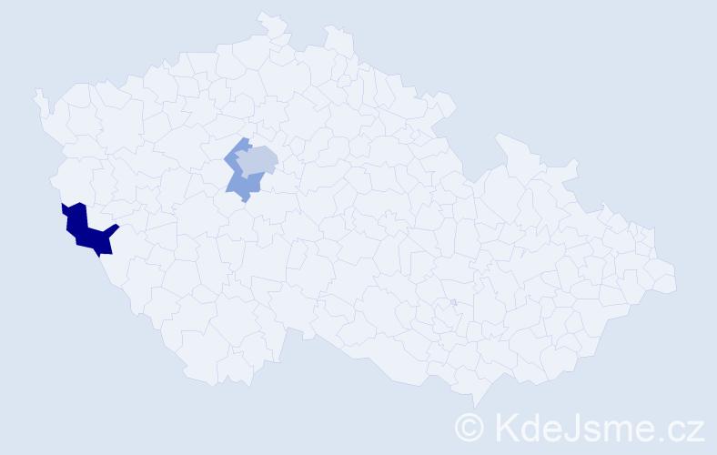 Příjmení: 'Altynski', počet výskytů 6 v celé ČR