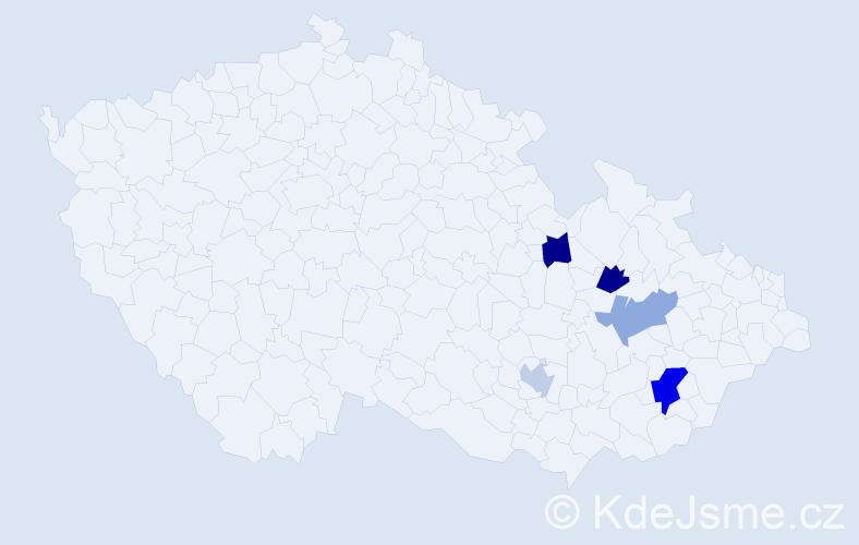 Příjmení: 'Grätzer', počet výskytů 7 v celé ČR