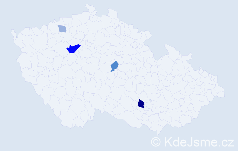 Příjmení: 'Apruzzese', počet výskytů 10 v celé ČR