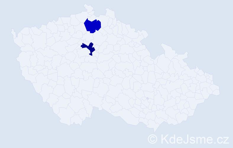 Příjmení: 'Gondolová', počet výskytů 11 v celé ČR
